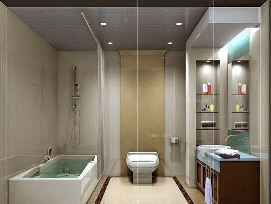 一居室卫生间