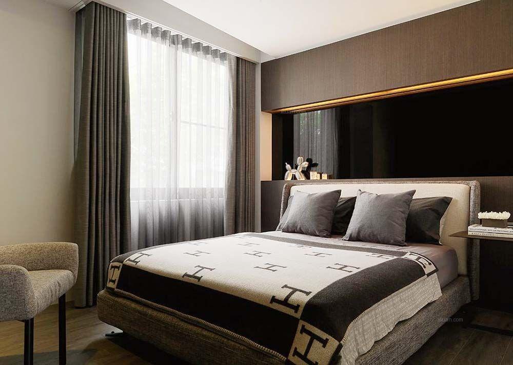 复式楼现代简约卧室