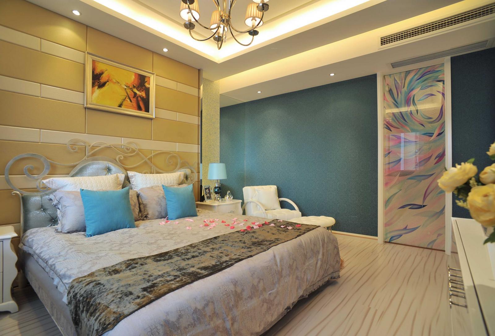 复式楼欧式风格主卧室