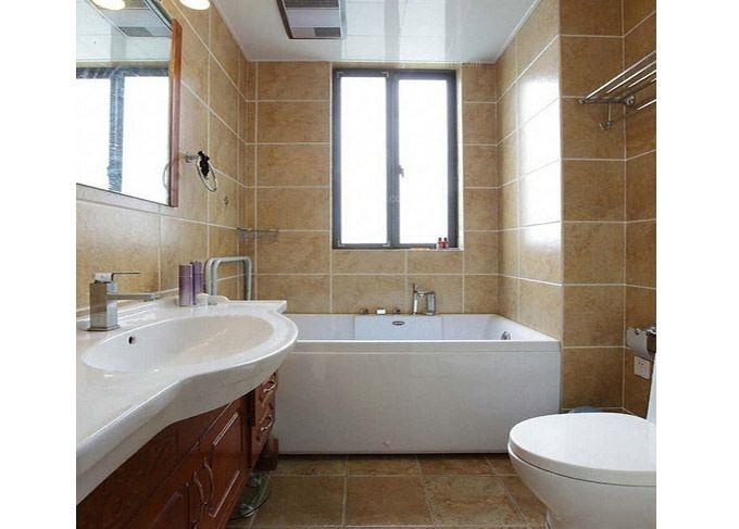 一居室现代简约卫生间