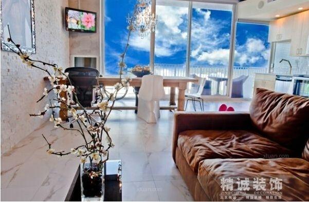 北京精诚装饰----时尚简约不简单!30款客厅设计妥妥地收藏