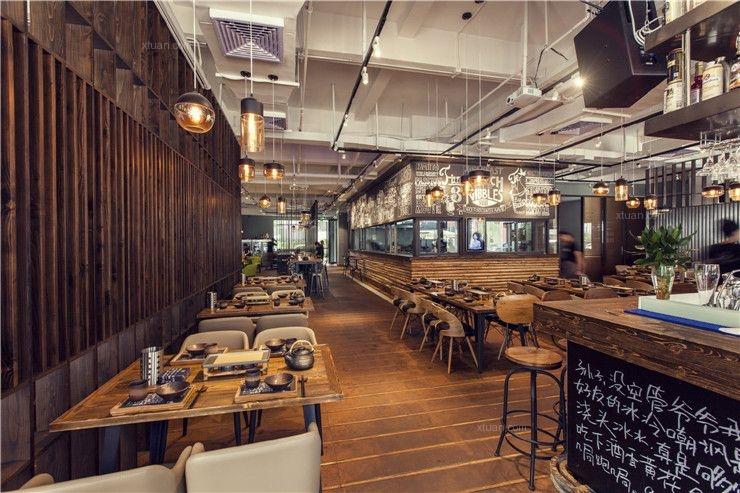 【餐饮空间设计】珠海900°烧烤店空间设计