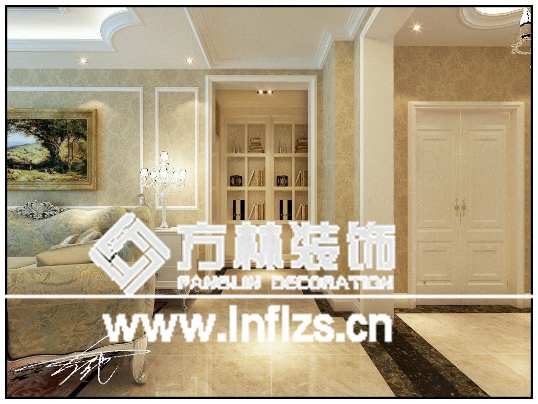 中海雍和装修效果图_中海雍和实景案例