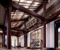 四合茗苑——安徽芜湖白金湾古典中式会馆设计案例