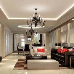 杭州绿都嘉华公馆120平方现代风格装修设计案例