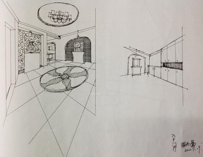 简笔画 手绘 素描 线稿 800_619