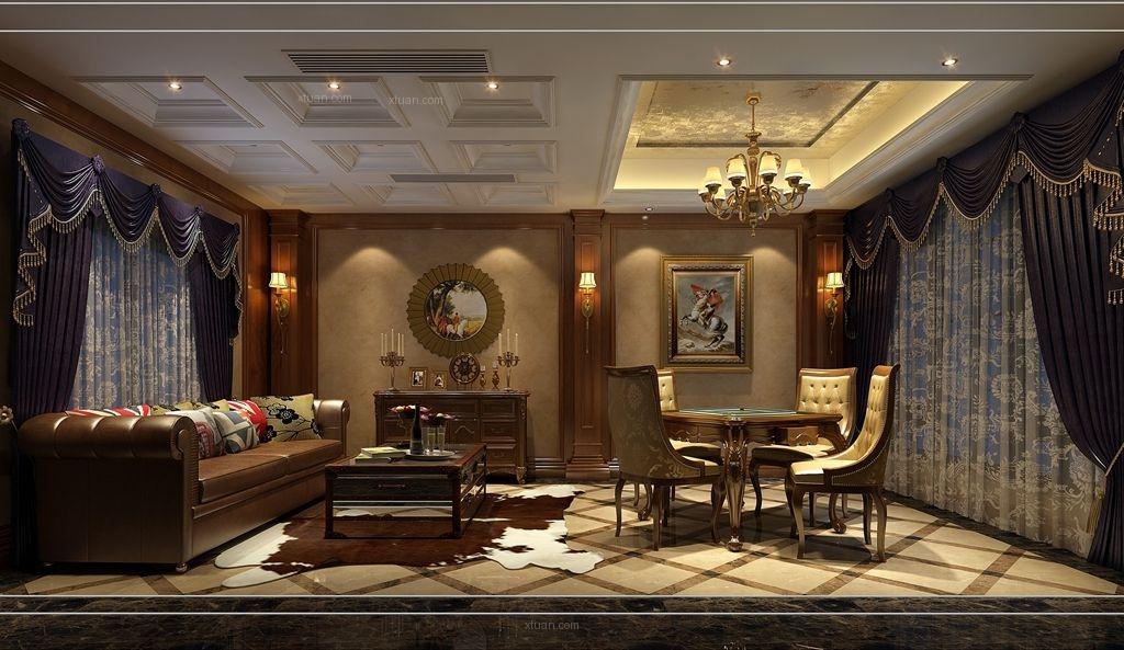 独栋别墅欧式风格地下室