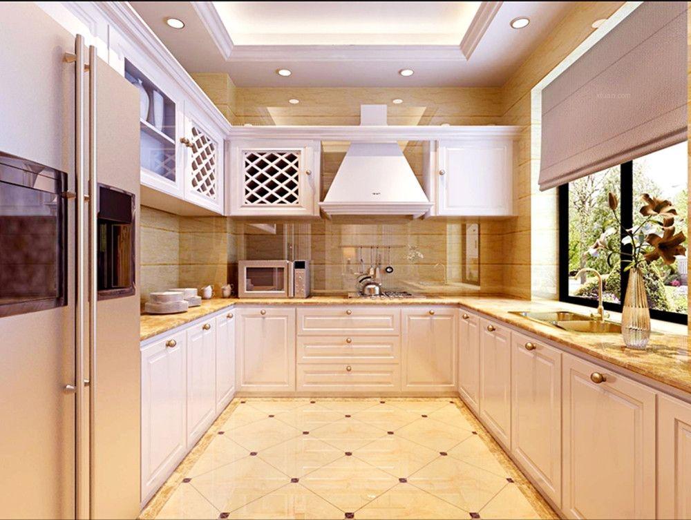 四居室简欧风格厨房图片