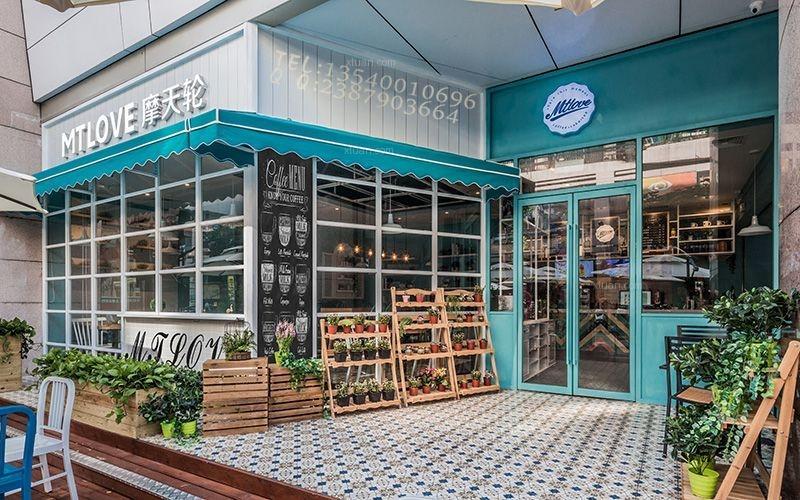 摩天轮咖啡馆----成都咖啡厅装修效果图