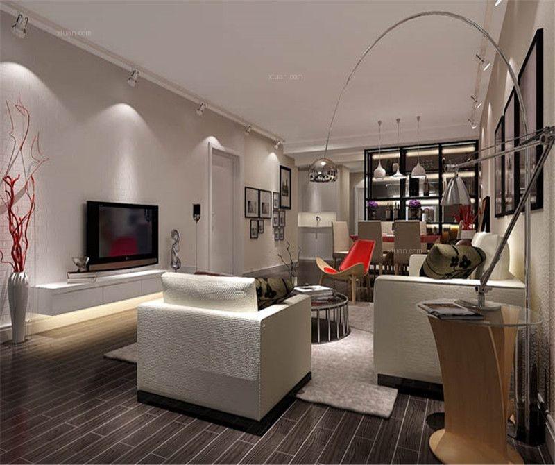三室一厅时尚风格客厅
