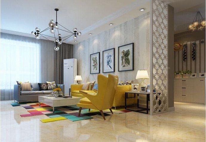 两居室时尚风格客厅