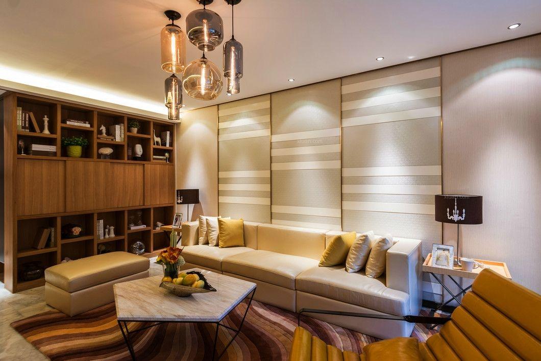 四居室韩式风格客厅