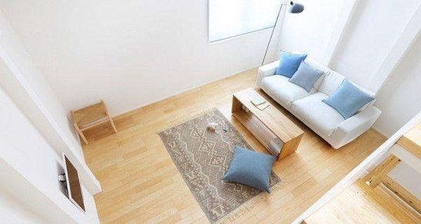四居室现代简约客厅客厅隔断
