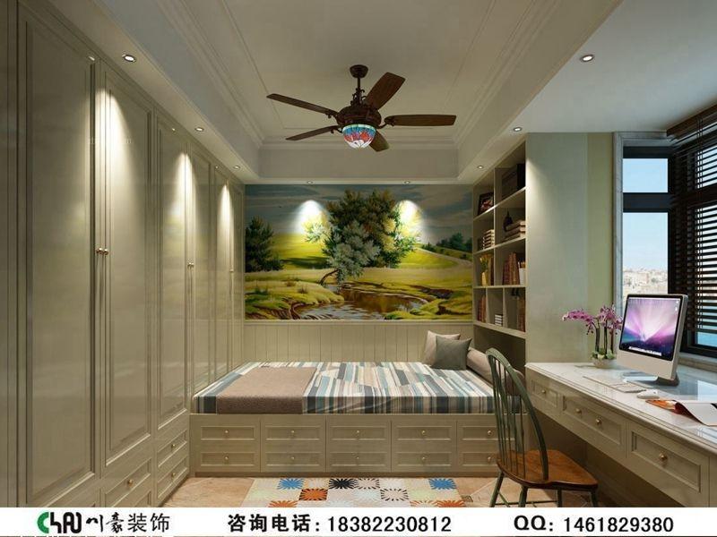 中海城南华府—新古典装修风格案例