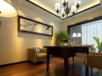 昆明润城180平方中式风格中户型16万元