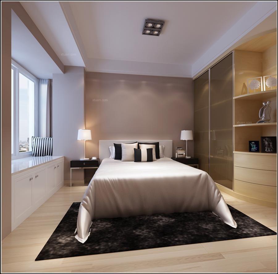 大户型现代简约卧室
