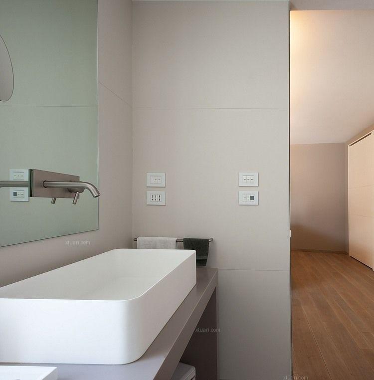 别墅现代简约卫生间