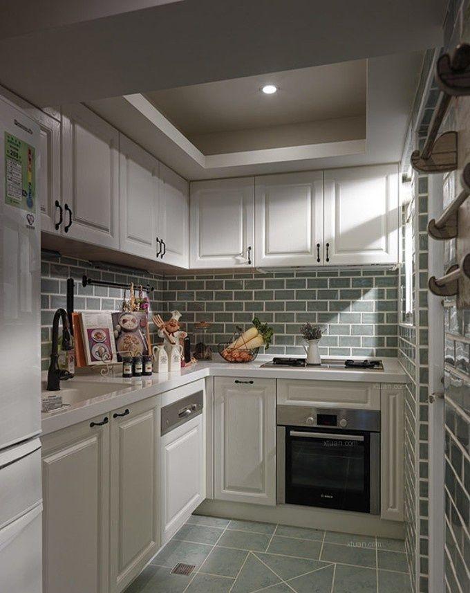 别墅现代简约厨房