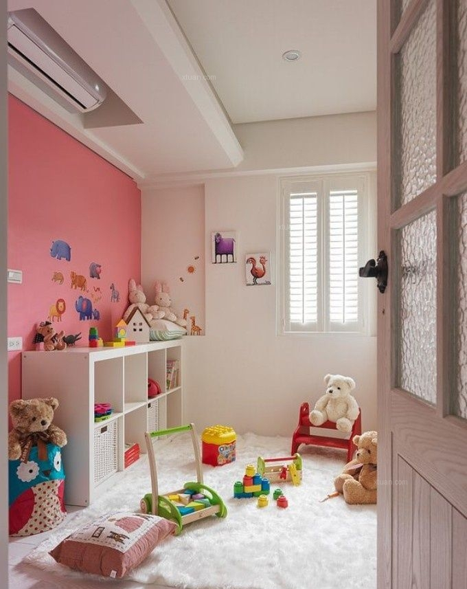 别墅现代简约儿童房