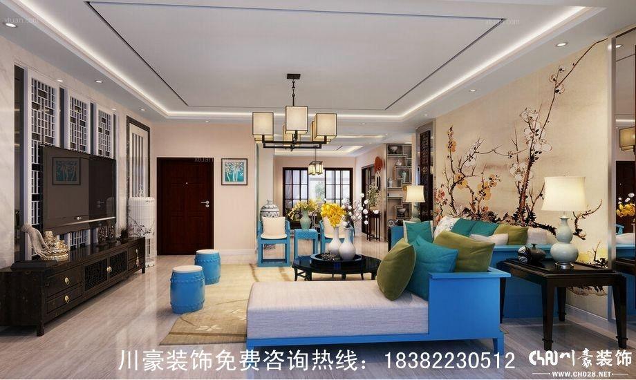 四居室古典风格客厅