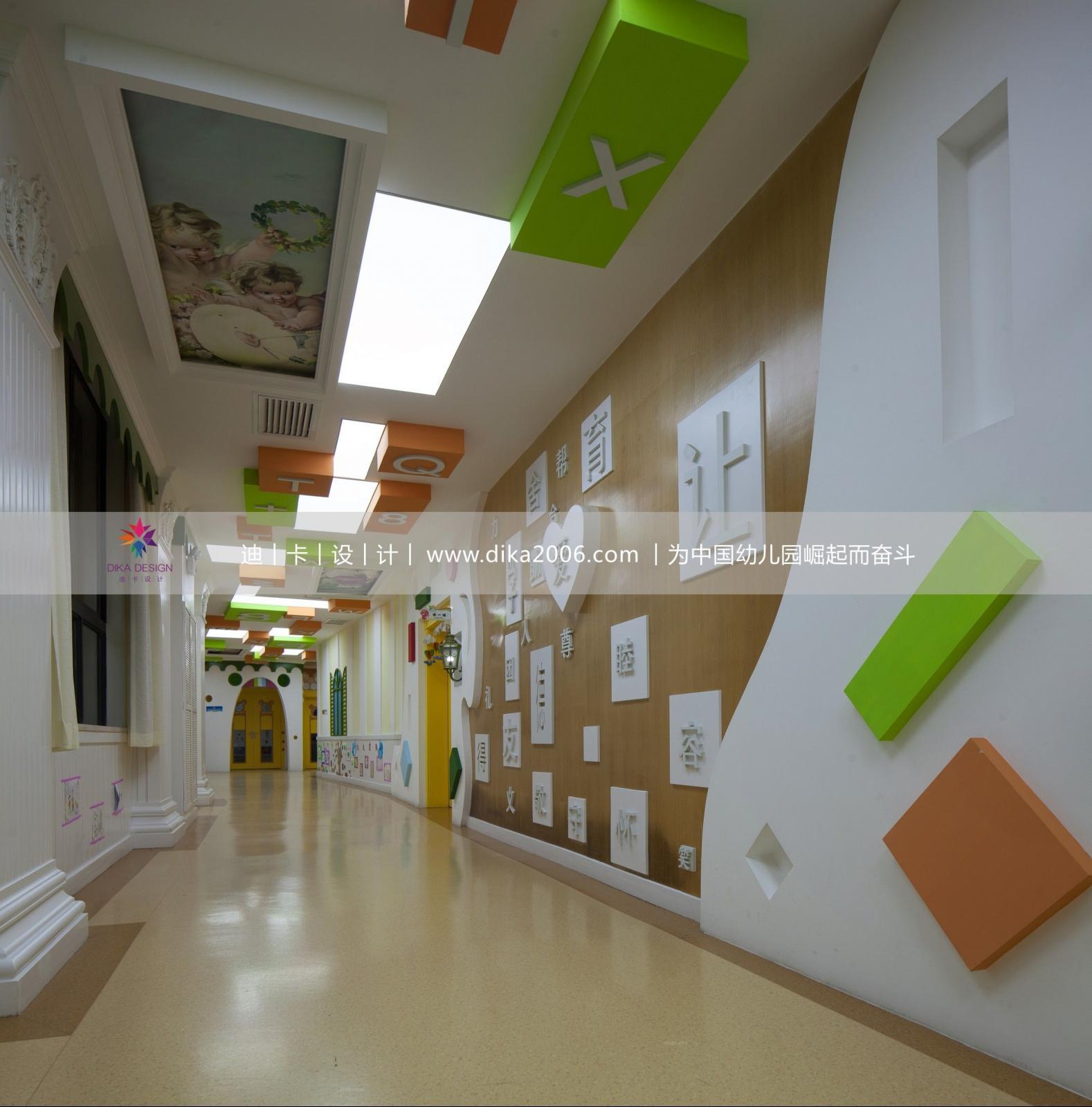 幼儿园设计装修效果图-x团装修网