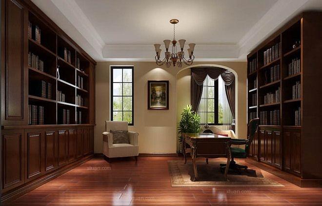 别墅地中海风格书房