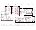 北戴河御墅龙湾146平舒适欧式三居装修案例