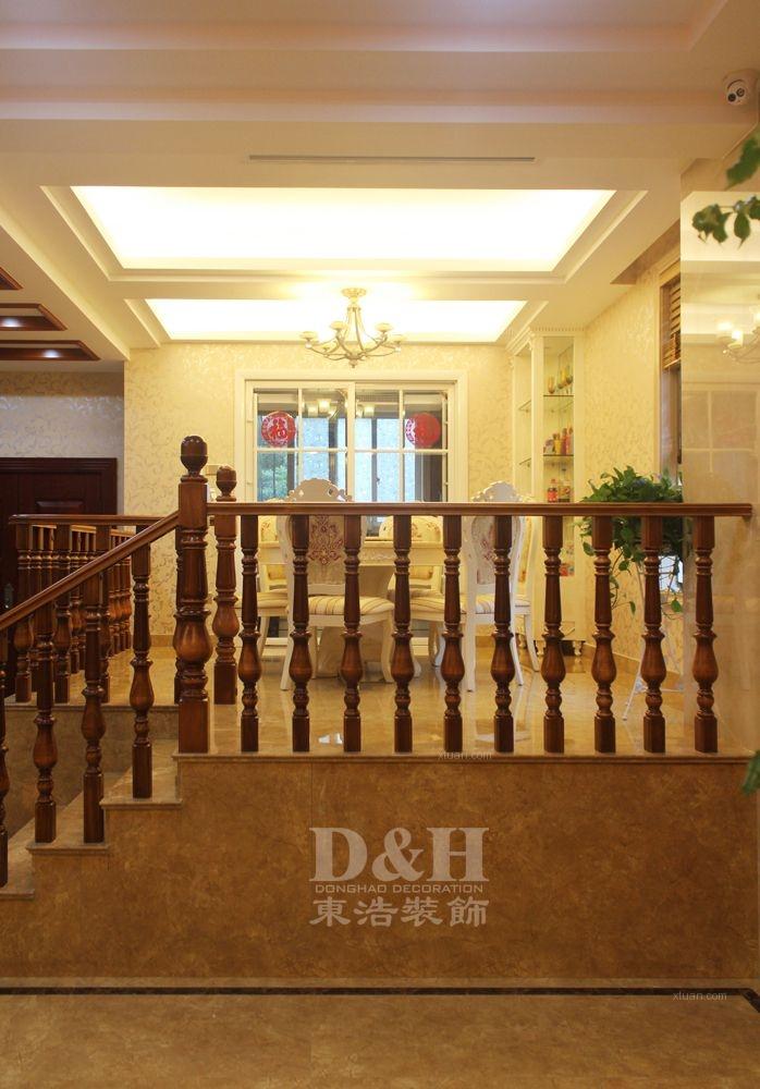 别墅欧式风格餐厅卧室背景墙