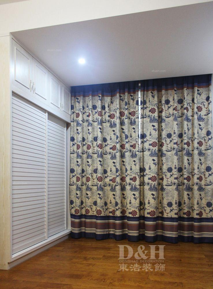 别墅欧式风格小卧室卧室背景墙