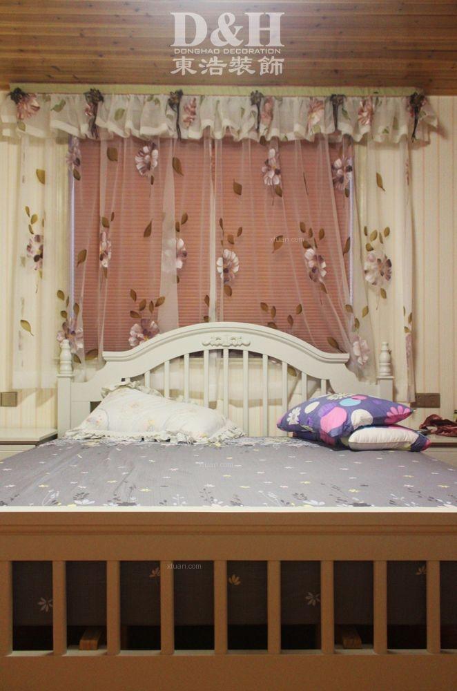别墅欧式风格卧室卧室背景墙