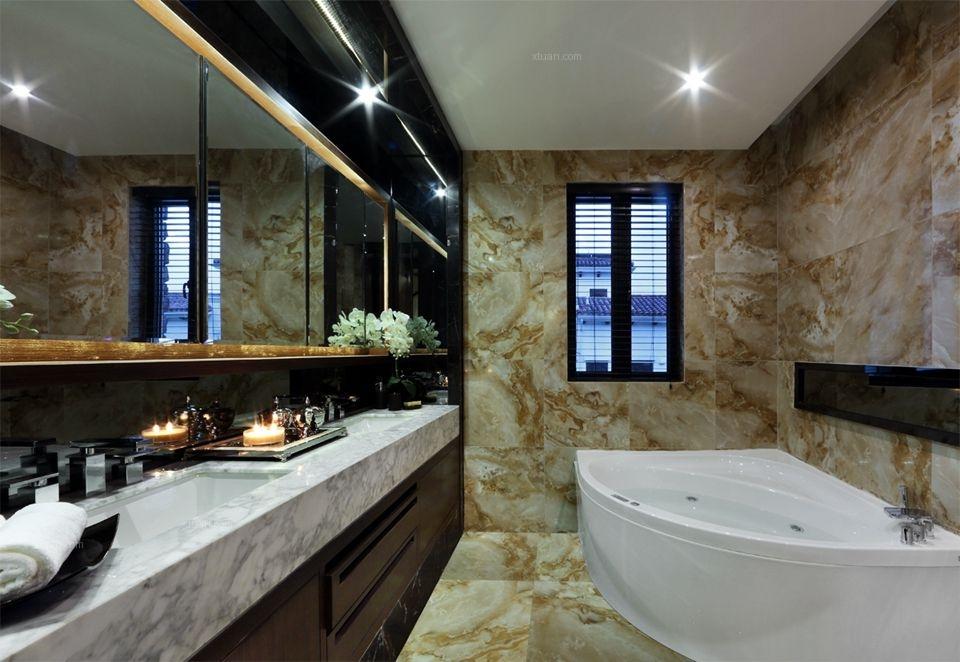 别墅新古典卫生间