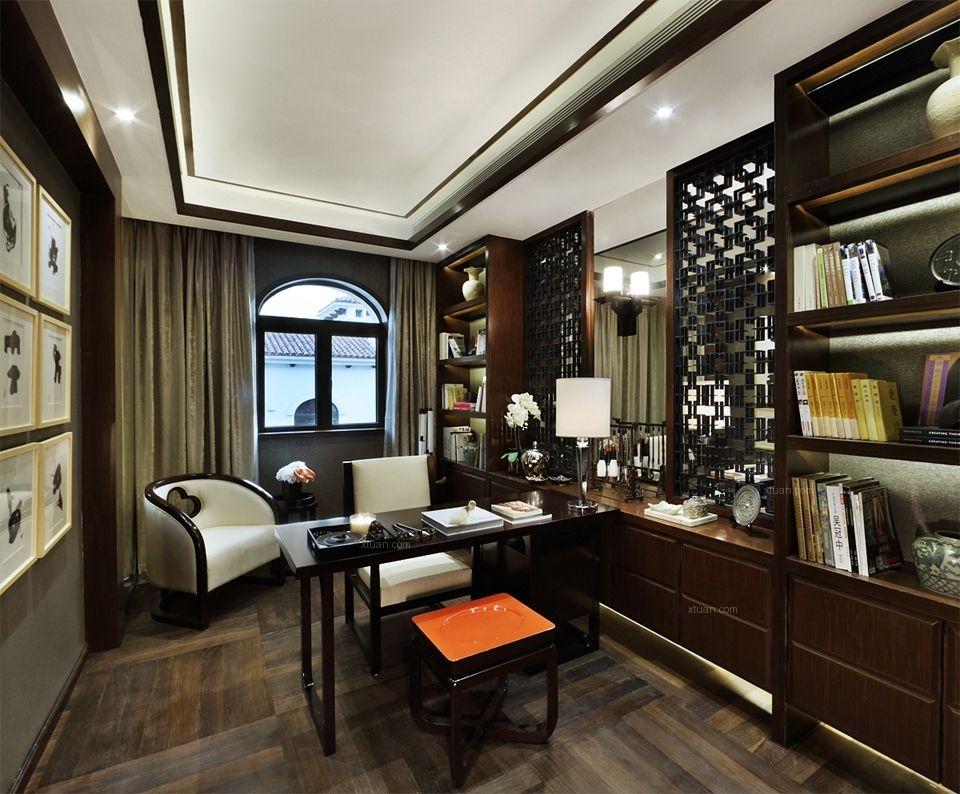 别墅新古典书房