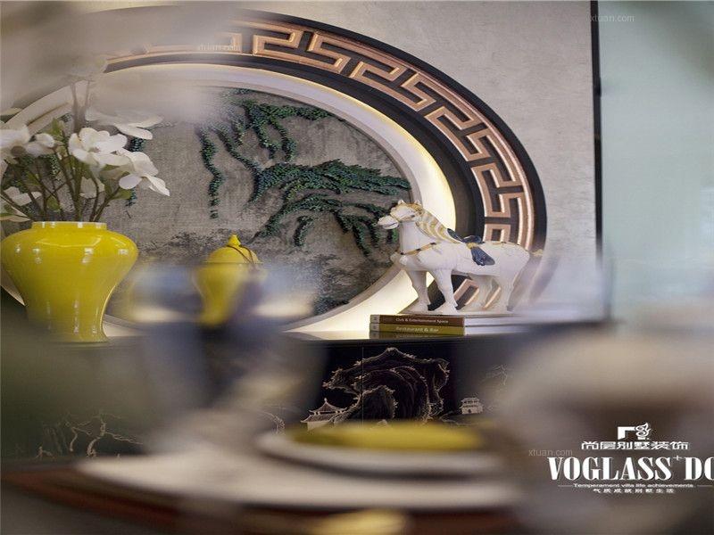 成都别墅装修首席设计师推荐新中式风格案例欣赏