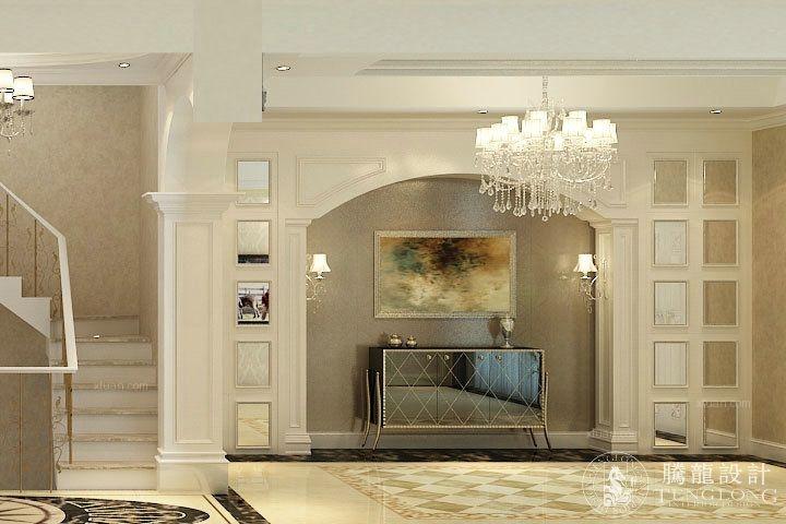 别墅欧式风格玄关_沿海郦墅别墅欧式风格设计方案装修