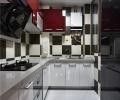 二室两厅黑白灰造就时尚经典简约风