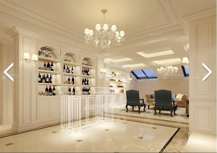 别墅欧式风格玄关_御沁园别墅欧式风格设计方案展示