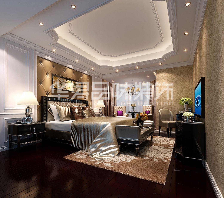 海景别墅欧式风格卧室