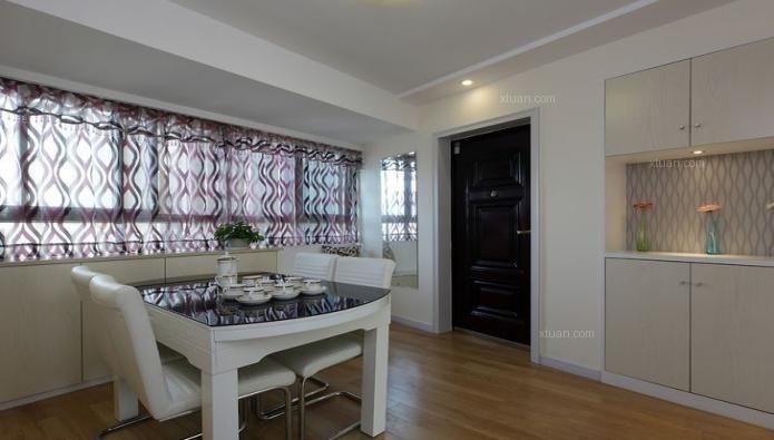 24城装饰-银泰香樟林-三居室-现代风格