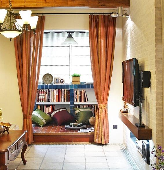 两居室地中海风格书房