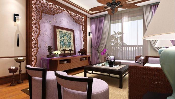 24城装饰-仁和春天国际花园-东南亚风格