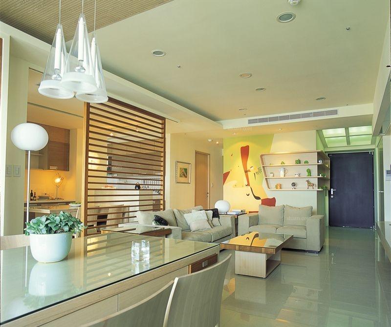 24城装饰-中信城-现代风格-三居室