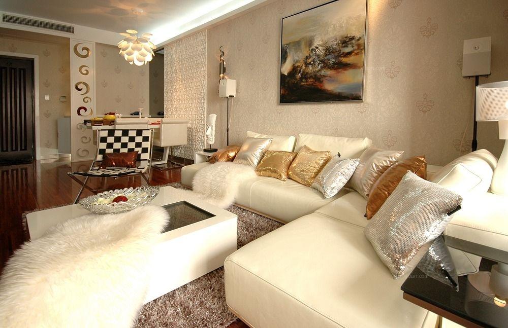 24城装饰-金辉枫尚-现代风格-三居室