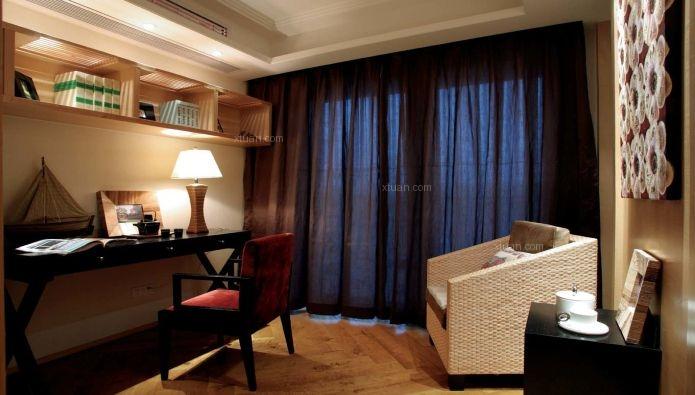 24城装饰-光明城市-东南亚风格-三居室