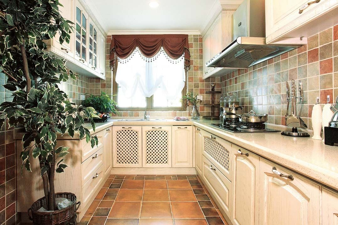 别墅地中海风格厨房