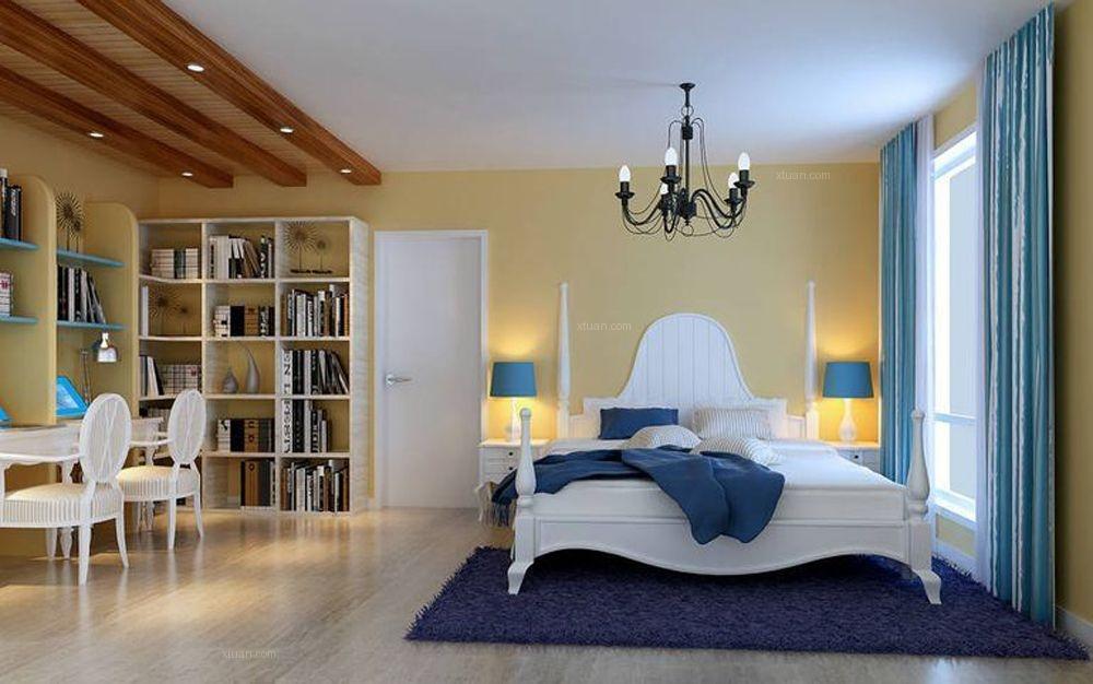 两居室混搭风格卧室