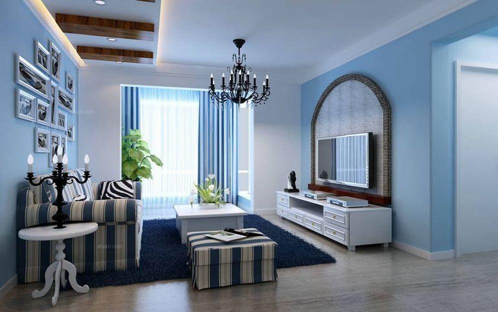24城装饰-海棠湾-混搭风格-二居室