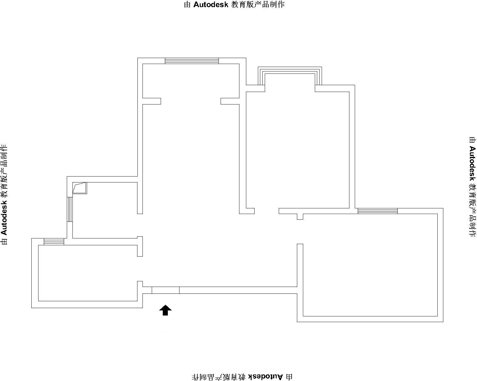 两居室美式风格休闲区
