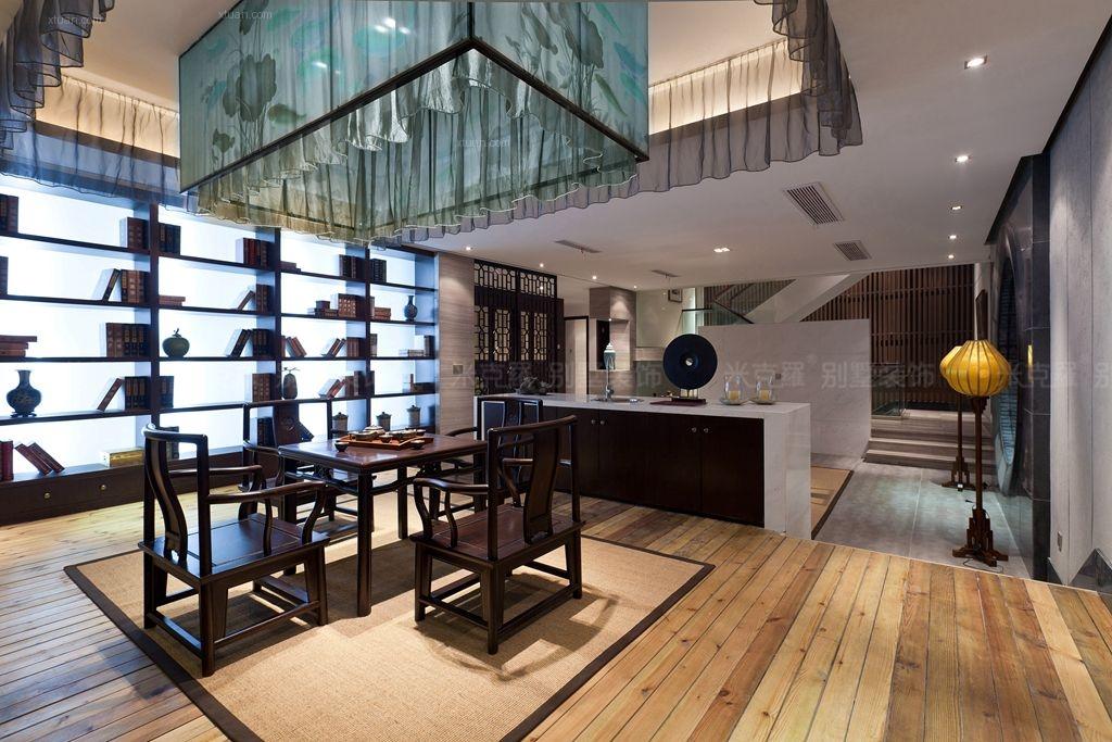 独栋别墅中式风格地下室图片