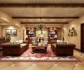 成都别墅装修首席设计师推荐传统美式风格案例--长城半岛城邦