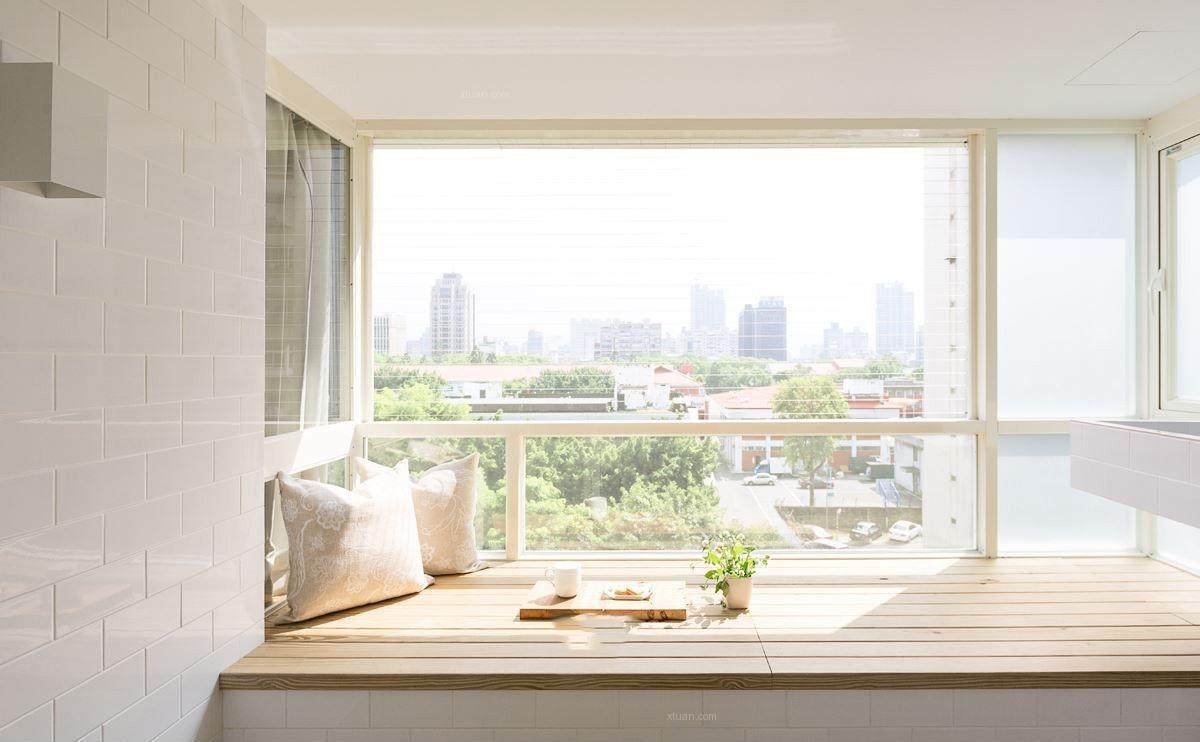 三居室现代简约休闲区